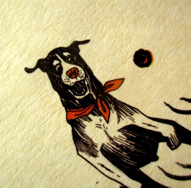 Tirage chiens nuls à la balle