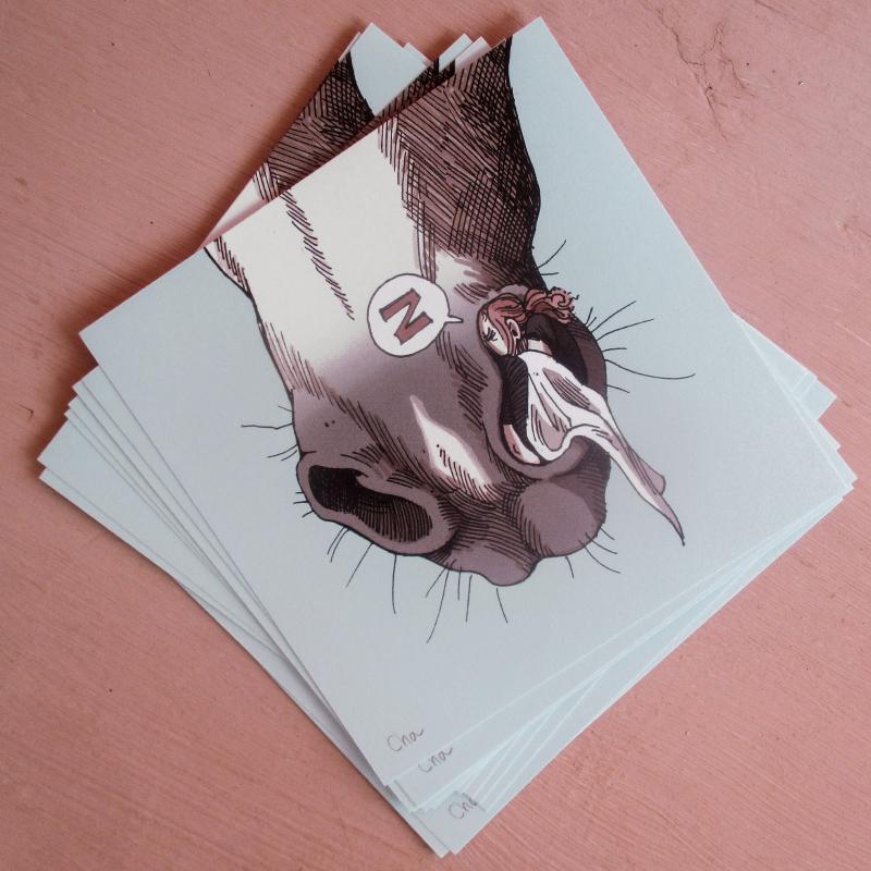 Carte artprint naseaux