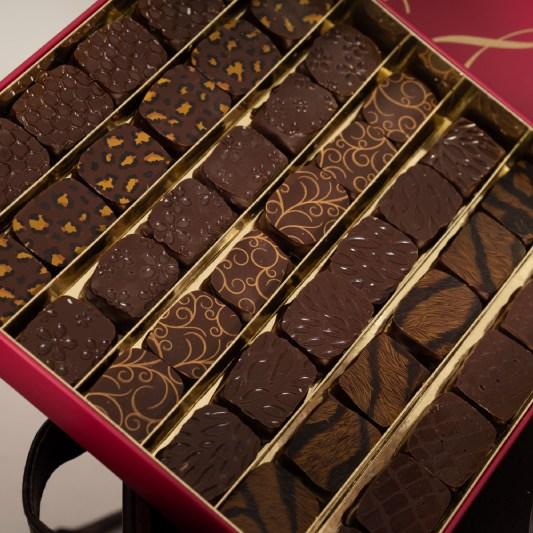Boîte de chocolat charles traiteur