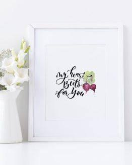 Heart-beetsss-Poster8x10