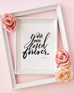 Lettering-youareloved-claricegomes