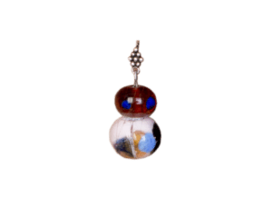 Purple Glass Earrings 3