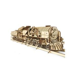 Maquette 3D en bois - Locomotive