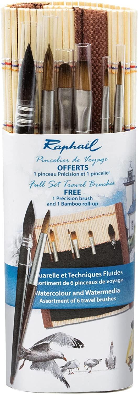 Pincelier de voyage - Raphaël