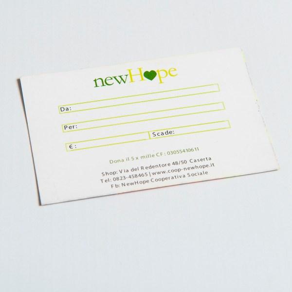 Carta Regalo NewHope