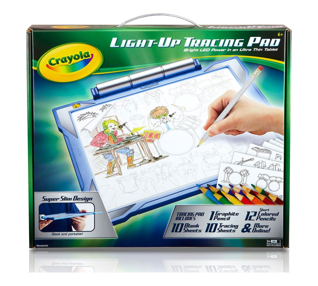 Light Up Tracing Pad-Blue