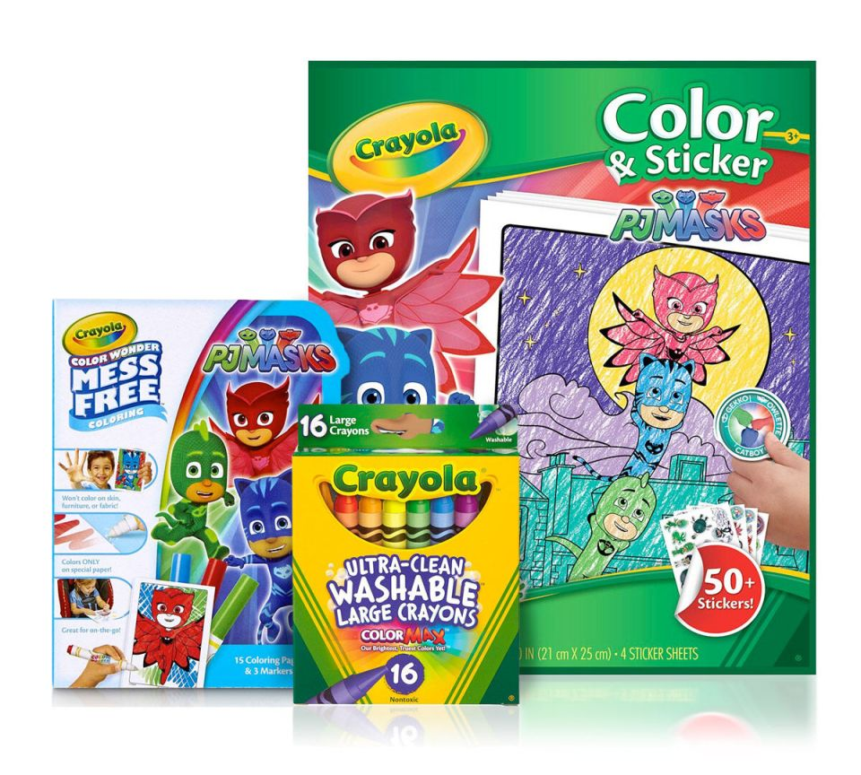 PJ Masks Color & Sticker Gift Set
