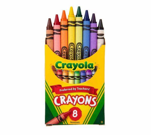 8 Crayola Crayons, School Supplies   Crayola.com   Crayola