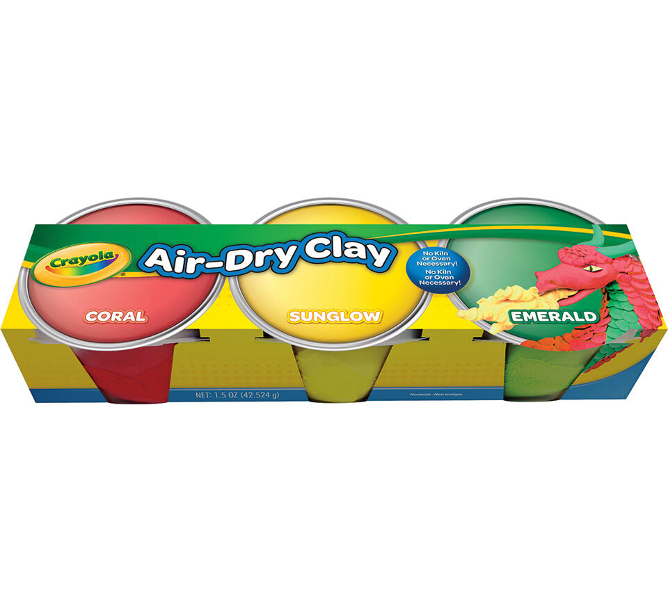 Air-Dry Clay Pastel Assortment