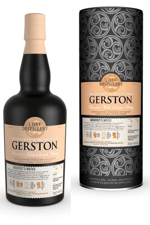 The Lost Distillery Company Gerston Archivist Selection Gift Tin 46% ABV 70cl