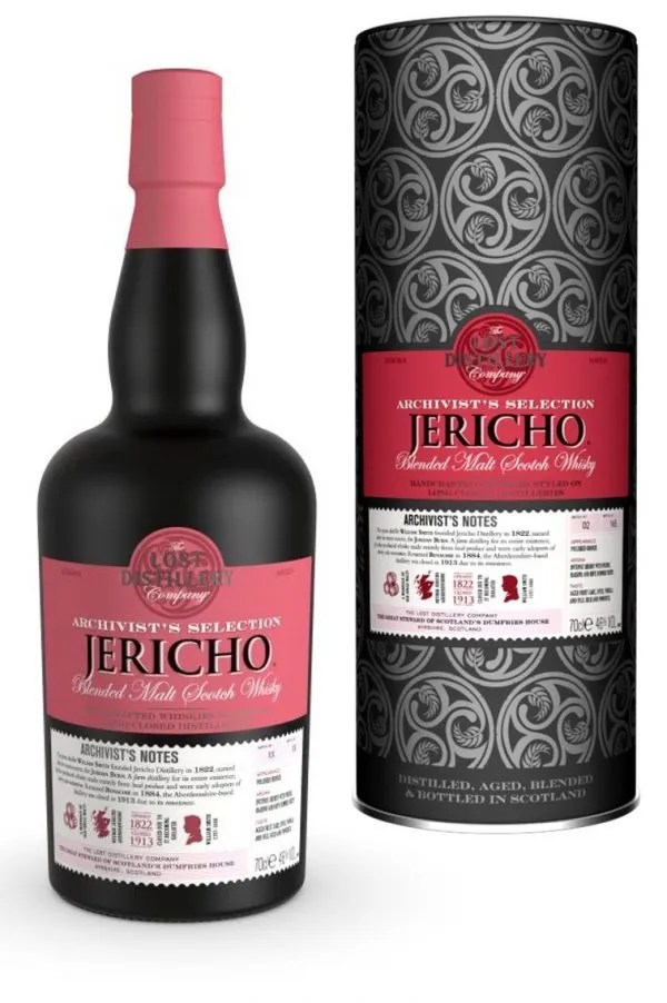 The Lost Distillery Company Jericho Archivist Selection Gift Tin 46% 70cl