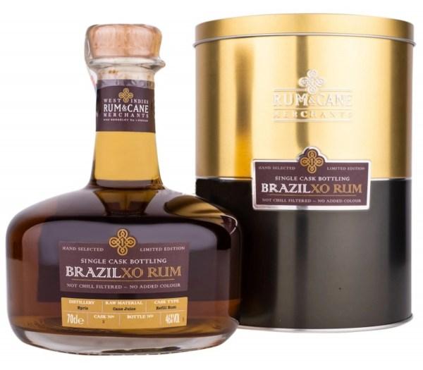 Brazil XO rum single cask rum & cane merchants Epris distillery