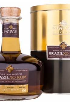 Brazil XO rum single cask rum & cane merchants Epris distillery