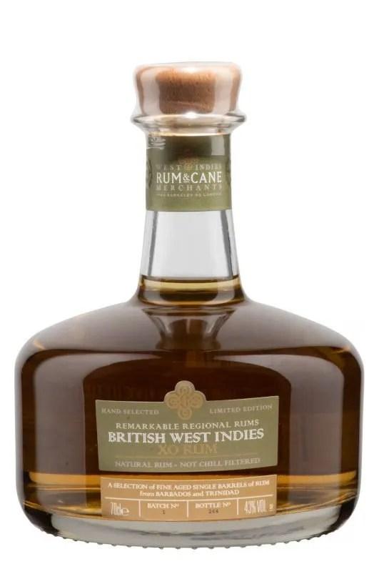 British West Indies XO rum 43% 70cl gift tin