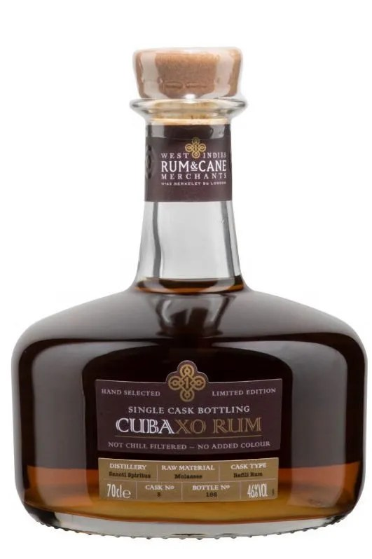 Cuba XO Single Cask rum 70cl 46% gift tin