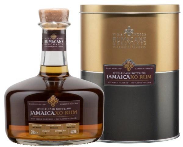 Jamaica XO rum single cask rum & cane merchants worthy park estate