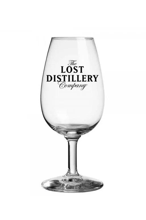 The Lost Distillery Company glass