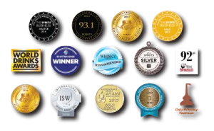 Awards medals lost distillery