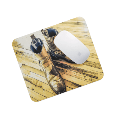 Bored Boots (Mouse Pad) - © 2016 Darren Bowen Photography