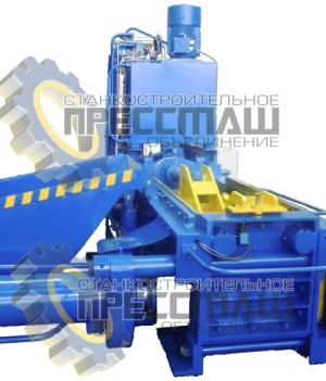 Прессы гидравлические для пакетирования металлических отходов