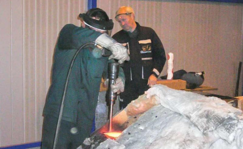Очистка сварного шва является неотъемлемой частью успеха процесса наплавки.