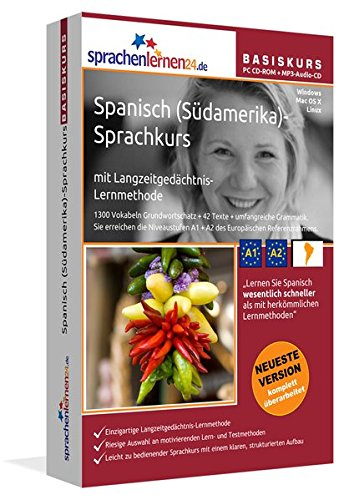 Spanisch (Südamerika)-Basis-Sprachkurs