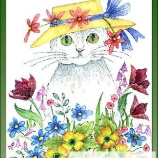 Woodpoppy, Tulips and Daisies Embroidery Kit