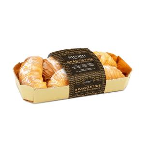 Aragostine Italian pastries helzenut chocolate