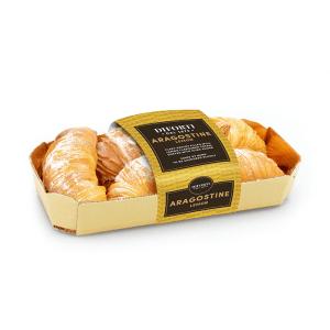 Aragostine Italian pastries lemon cream