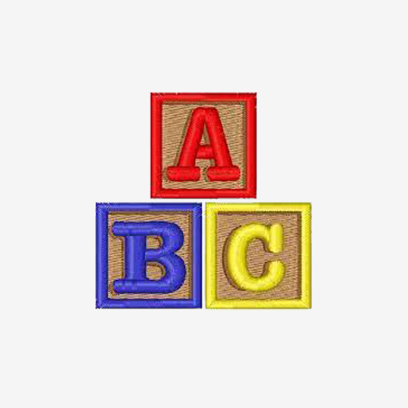 ABC Embroidery Designs