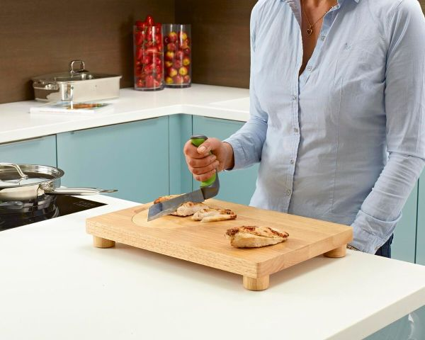 Easi-Grip knife kitchen aid cutting meat