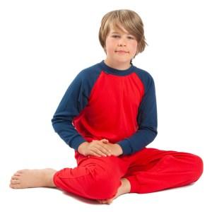 Seenin children's back-opening zip sleepsuit