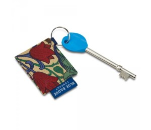 William Morris Golden Lily Key ring & Radar Key