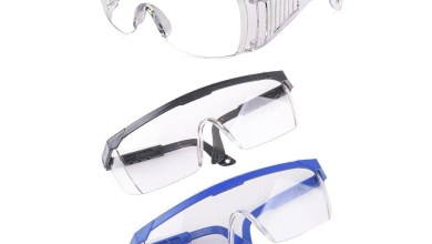 Photo of PPE safety glasses – 3 styles