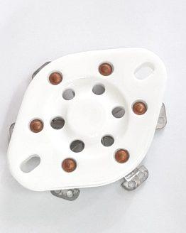 6-PIN Tube Sockets