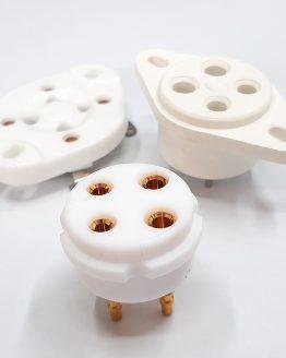 4-PIN Tube Sockets
