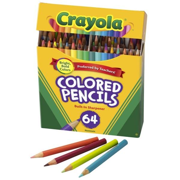 crayola color pencils # 4
