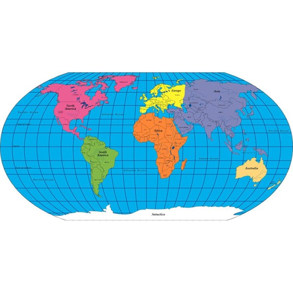 Practice Map Labeled World 30 Sht 8 X 16   SE 1000   Creative Shapes     Practice Map Labeled World 30 Sht 8 X 16   SE 1000   Creative Shapes Etc   Llc   Social Studies Maps   Map Skills