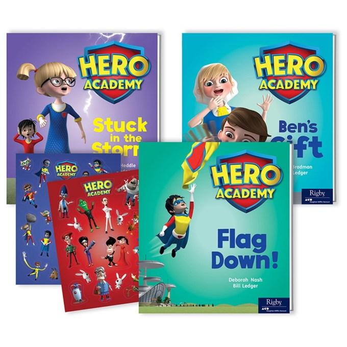 Hero Academy Parent Pack Grade 1 350l Sv 9780358177715 Houghton Mifflin Harcourt Leveled Readers