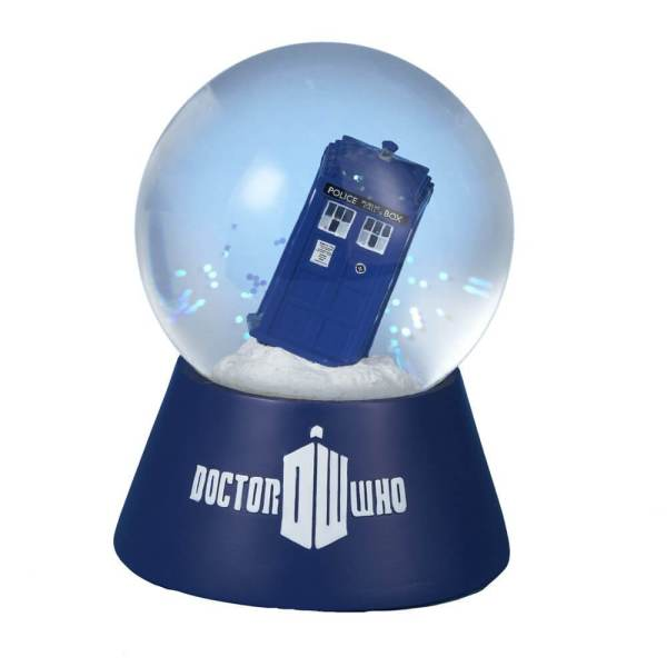 Doctor Who Water Globe