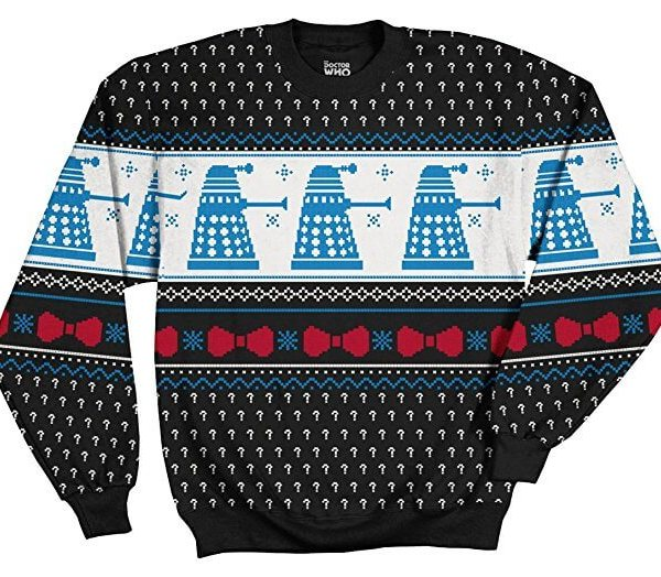 Doctor Who Daleks Themed Jumper - Christmas Exclusive