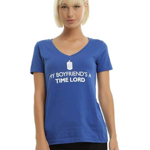Doctor Who 'My Boyfriend's a Time Lord' T-shirt