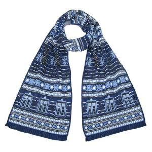 Official Doctor Who Knitted Scarf by LOVARZI