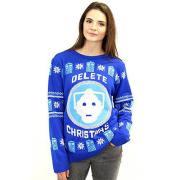 Cybermen Ugly Sweater Women