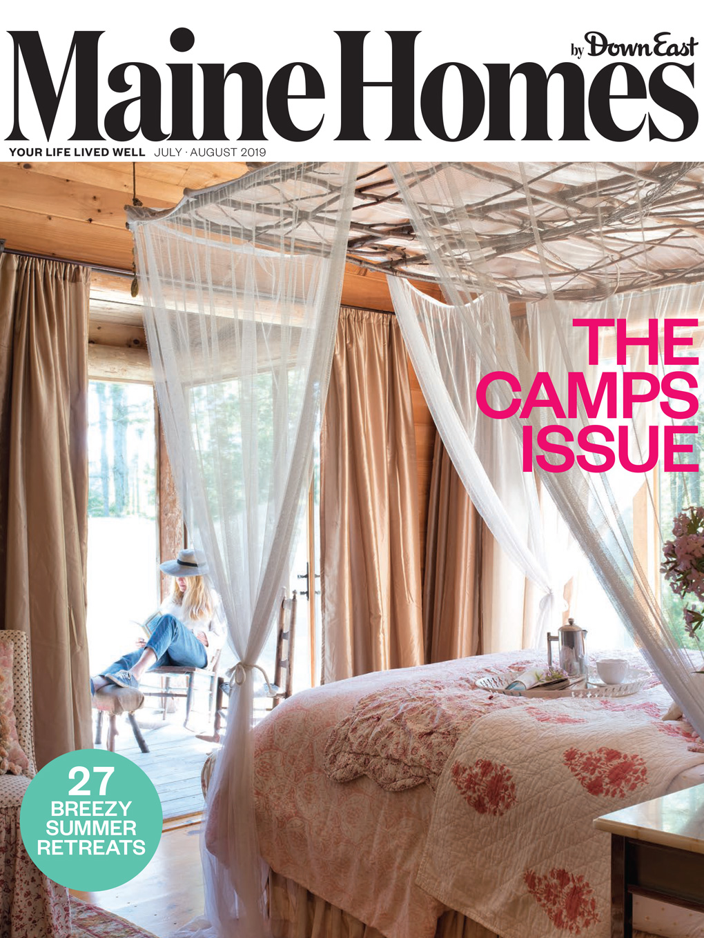 maine homes by down east magazine july august 2019