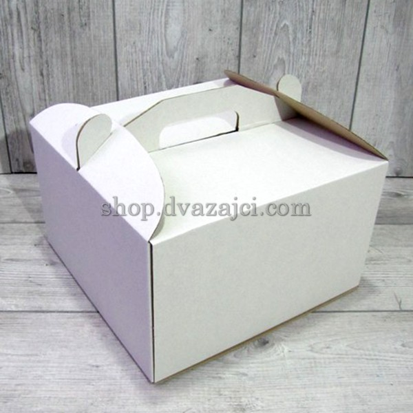 Тортовая упаковка 250х250х150