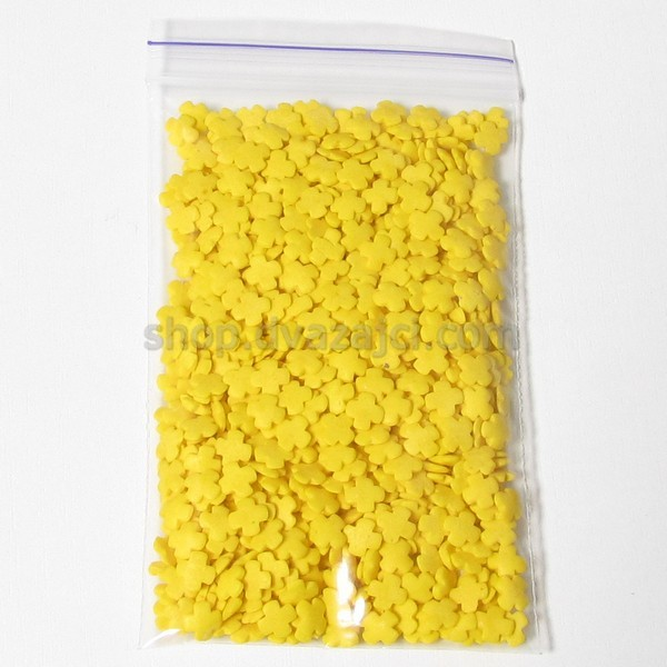 Посыпка фигурная крест желтый 50 гр