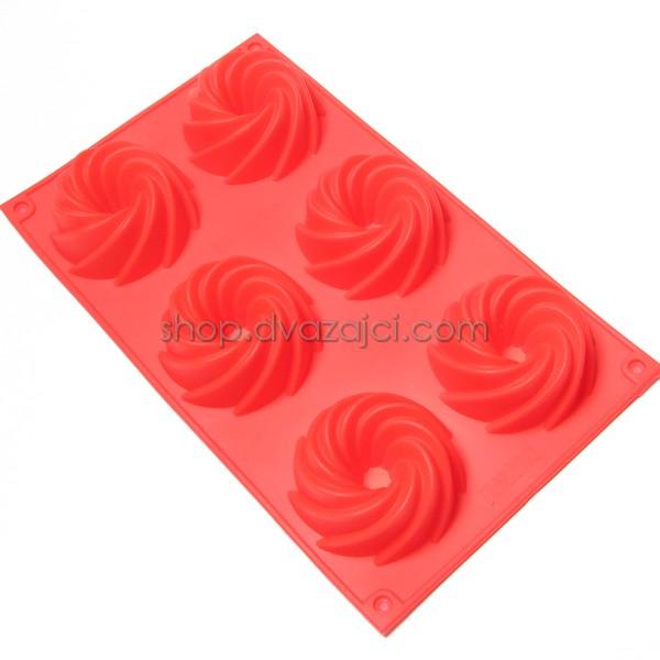 Форма силиконовая для кексов Завиток