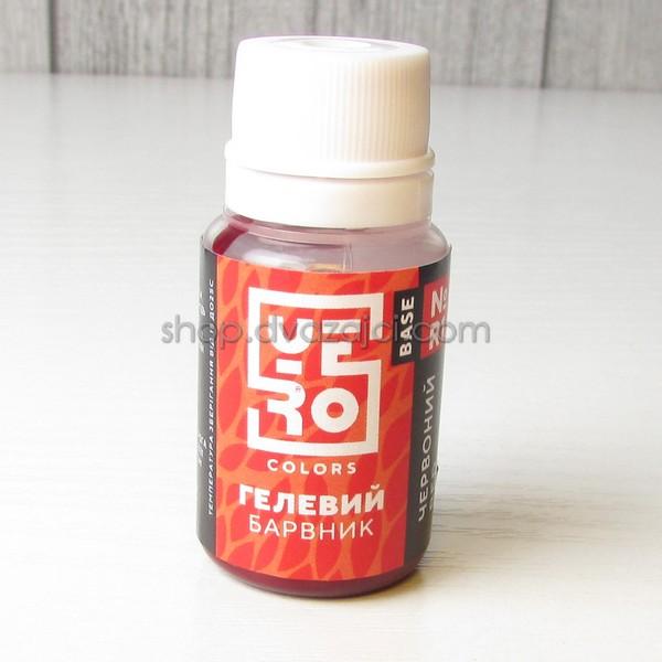 Краситель гелевый Yero Color 10г красный