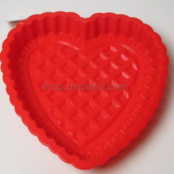 Форма силиконовая для кекса Сердце